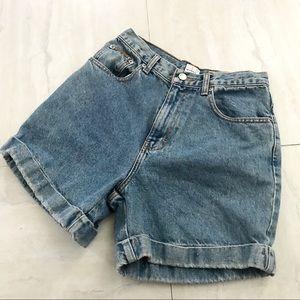 VTG Calvin Klein Denim Jean High Rise Shorts 6